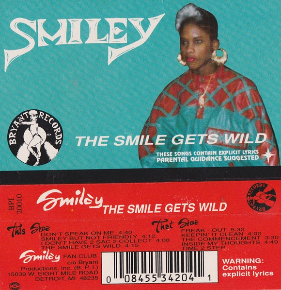 Smiley - the first female emcee to go gold