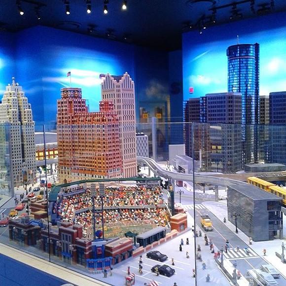 MiniLand Detroit at the Legoland Discovery Center - BARGAINS2BOUNTY VIA INSTAGRAM