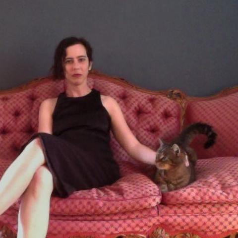Anne Elizabeth Moore, the third Write A House winner. - ANNE ELIZABETH MOORE ON FACEBOOK