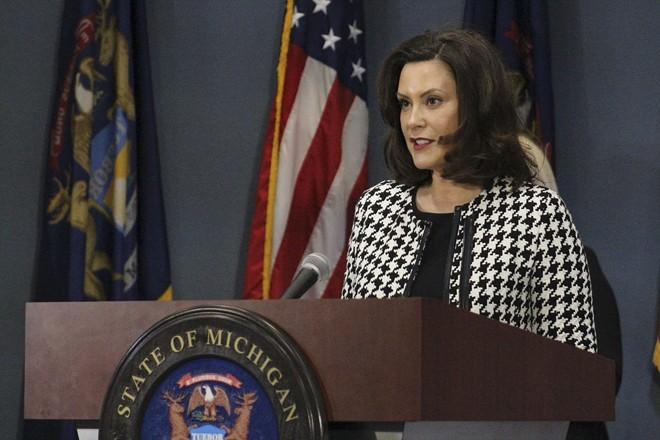 Gov. Gretchen Whitmer - STATE OF MICHIGAN