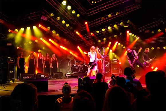 Myrkur at Roskilde Festival 2015 - STIG NYGAARD