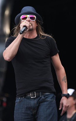 Kid Rock. - PHOTO VIA WIKIPEDIA.