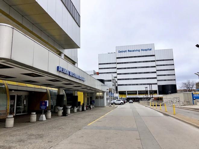 Detroit Receiving Hospital. - BY STEVE NEAVLING