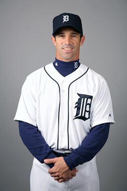 Coach Brad Ausmus. - PHOTO COURTESY OF THE DETROIT TIGERS.