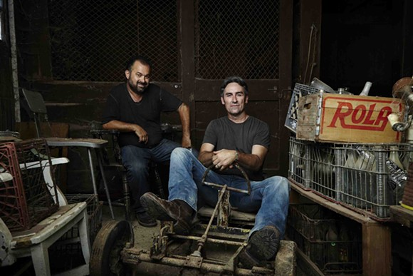 Photo courtesy of American Pickers on the History Channel.