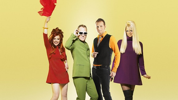 The B-52's. - PHOTO COURTESY OF ASTRALWERKS.