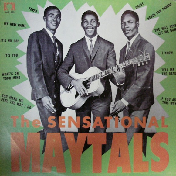 THE MAYTALS' SECOND LP, FROM 1965.