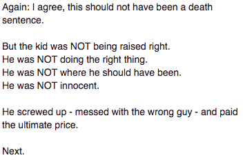 SCREENGRAB FROM FREE PRESS COMMENTS PAGE