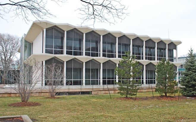 WSU's McGregor Memorial Conference Center, which was supposed to host the 2020 Green Party National Convention until it got scrapped. - ANDREW JAMESON, WIKIMEDIA CREATIVE COMMONS