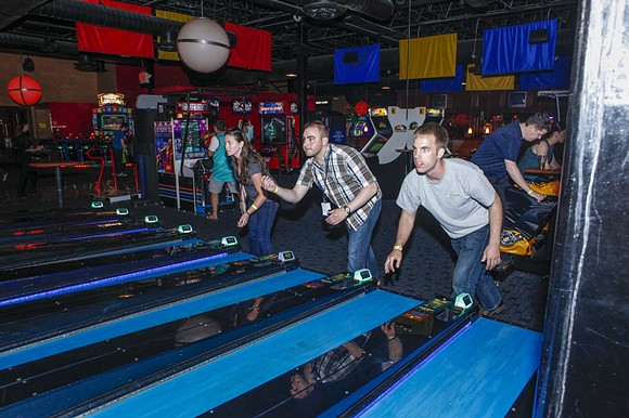 Skee ball is just one of the many games at Lucky Strike. - CREDIT: ADVANCED VEHICLE TECHNOLOGY COMPETITION (FLICKR.COM)