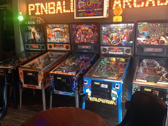 Those are some intense pinball machines. - WILLIAM M. (YELP.COM)