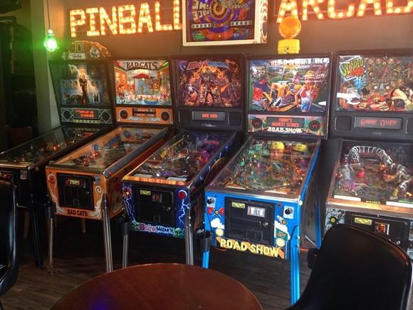 Those are some intense pinball machines. - WILLIAM M. (YELP.COM)