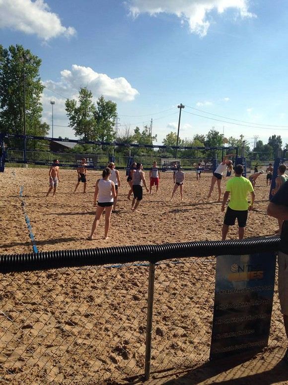 Volleyball is just one of the many activities offered at On the Dunes. - CREDIT: ON THE DUNES (FACEBOOK)
