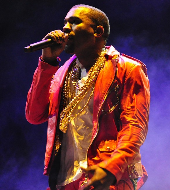 KANYE WEST PERFORMING AT LOLLAPALOOZA ON APRIL 3, 2011 IN SANTIAGO, CHILE. PHOTO BY RODRIGO FERRARI, COURRTESY WIKIPEDA.