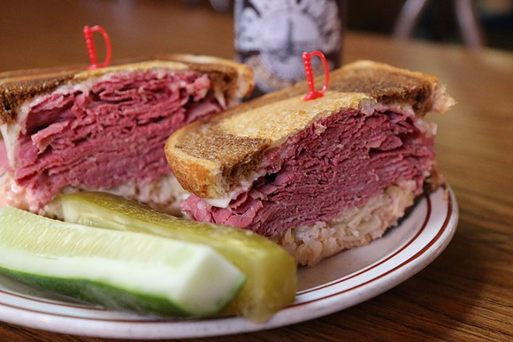 UNCLE HARRY'S DELI/RESTAURANT REUBEN | COURTESY PHOTO