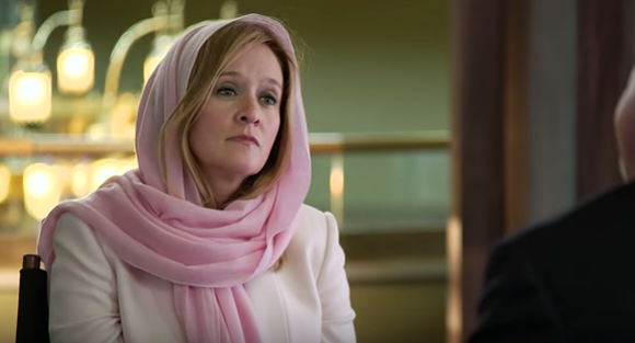 SAMANTHA BEE, DOING HER BEST CLAIRE DANES IMPRESSION | SCREENSHOT/YOUTUBE