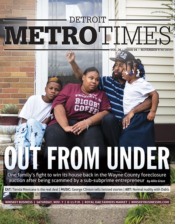 "Allie Gross' Nov. 2015 cover story ""Out from Under"" won first place in the feature story category."
