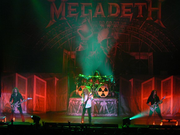Megadeth. - PHOTO BY NICK ARES | VIA WIKIPEDIA