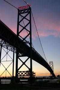 The Ambassador Bridge. - WIKIPEDIA