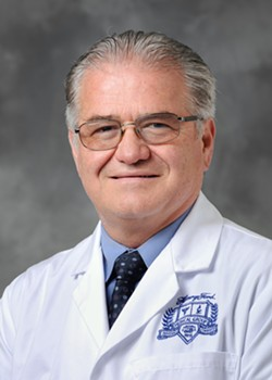 Dr. William O'Neill is heading the first large-scale study of hydroxychloroquine at Detroit's Henry Ford Health System. - COURTESY OF HENRY FORD HEALTH SYSTEM