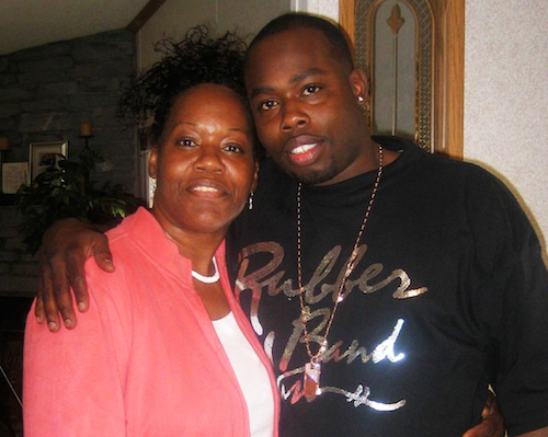 David Ware (right), pictured here with his mother Maudess Sutton, was unarmed when killed in a 2007 police sting. - COURTESY THE WARE FAMILY