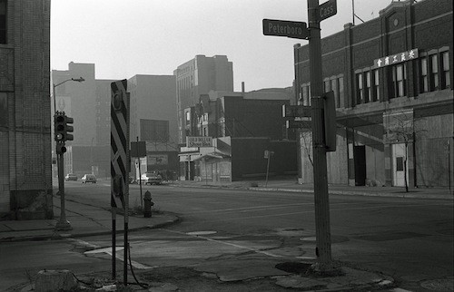 """""""Cass Avenue"""" - COURTESY BRUCE HARKNESS"""