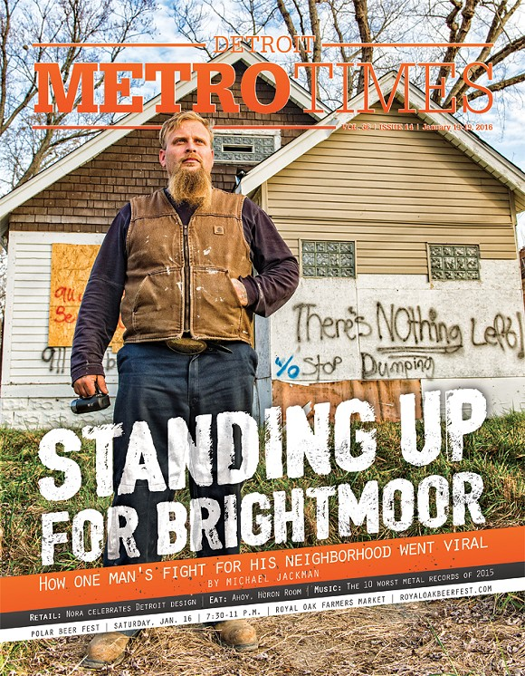 The cover of our January issue which featured Brightmoor's Jonathan Pommerville - COVER PHOTO BY DOUG COOMBE