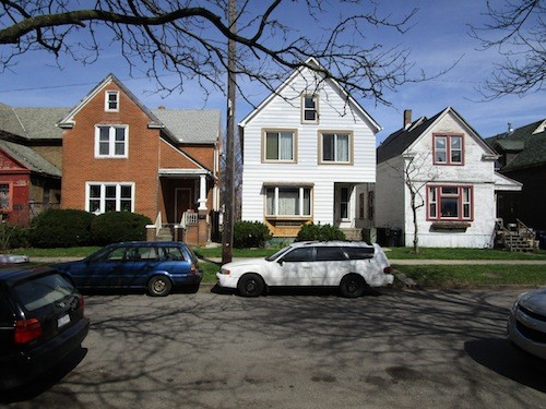 Historic houses may help stabilize neighborhoods in ways new condos can't. - PHOTO BY MICHAEL JACKMAN