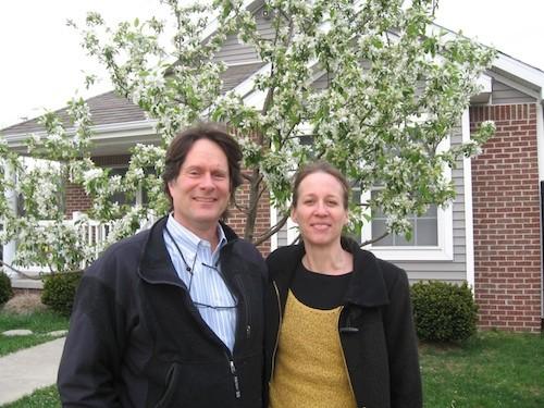 Ken Weikal and Beth Hagenbuch - PHOTO BY CURT GUYETTE