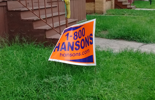 Hands-down, I'd have to say HANSONS is poised to sweep the electorate judging by the candidate's visible support in the hustings. Runner-up: ADT. - PHOTO BY MICHAEL JACKMAN