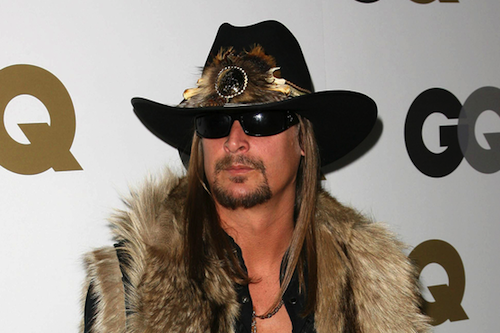 """Kid Rock: A cultural sponge """"who swooped in on Detroit ghettos, appropriated black music and its aesthetic, and raced straight past Go to Park Place."""" - EDITORIAL IMAGE COURTESY SHUTTERSTOCK"""