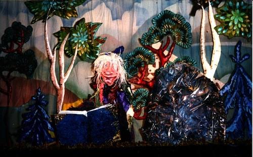 Scene from 'Firebird' - COURTESY PUPPETART THEATRE