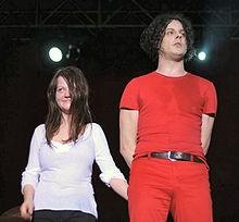 The White Stripes, circa 2009. - WIKIPEDIA