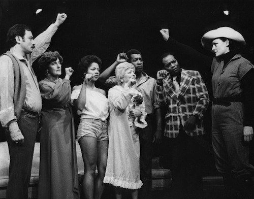 The Detroit Rep is a stage that doesn't shy away from politics. This photo is of their 1977 production of 'Sunday Revollution.' - COURTESY THE DETROIT REPERTORY THEATRE