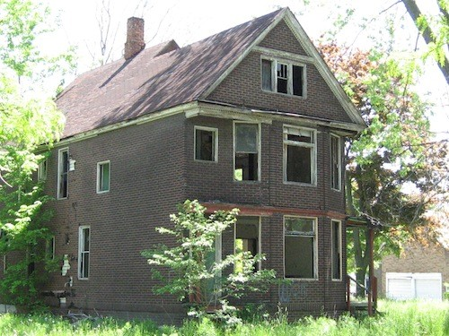 Academic findings include: Demolishing this Detroit house will create ... an empty lot in a more isolated neighborhood. - METRO TIMES FILE PHOTO
