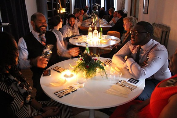 """From the Detroit """"Blackness in America"""" dinner series this spring. - URBAN CONSULATE/FACEBOOK"""
