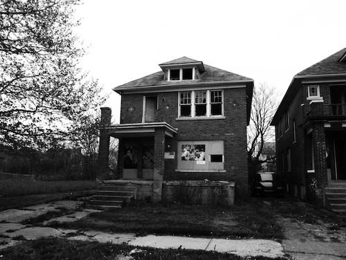 The house at 1995 Ford St., Detroit. - COURTESY THE MOTOR CITY MOVEMENT