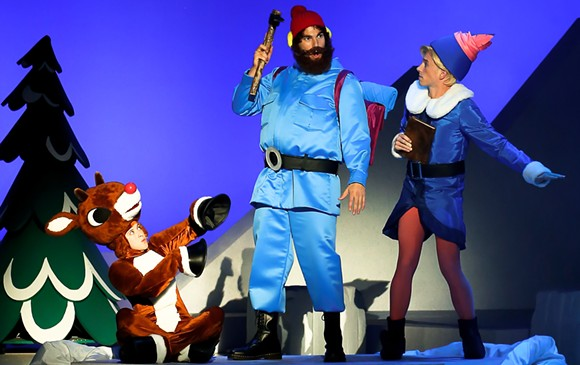 Rudolph the Red-Nosed Reindeer the Musical. Photo courtesy of Olympia Entertainment.