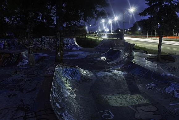 North Detroit, Ride It Sculpture Park, Klinger and E. Davidson. - PHOTO BY HAOMIN WEI