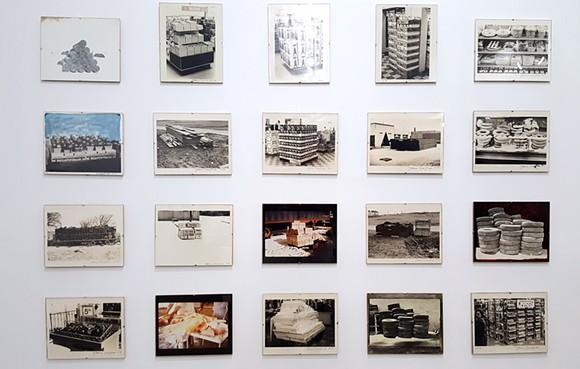 20 untitled photographs, Pile Series (1967, 1972, 1973) - PHOTO BY SARAH ROSE SHARP