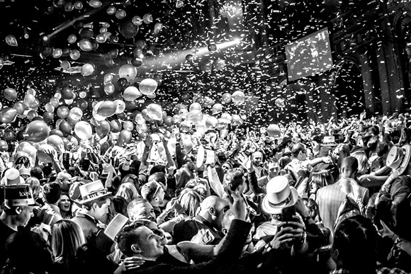 Resolution Ball - PHOTO BY MARC NADER