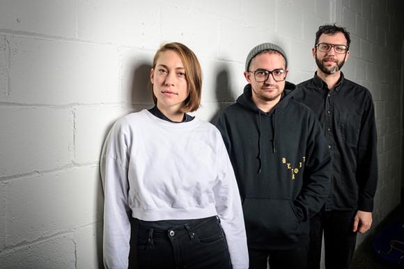 Anna Burch, Matt Rickle, and Adam Pressley - PHOTO BY DOUG COOMBE