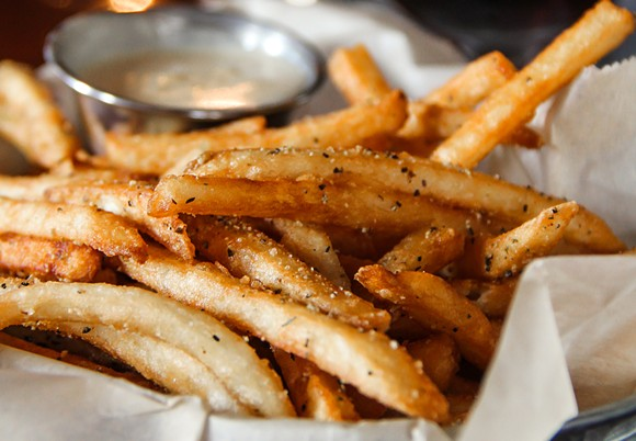 This joyful glamour shot of HopCat's Crack Fries was provided to us.