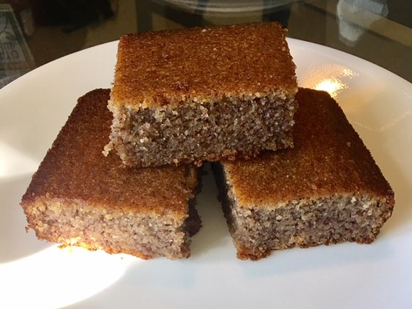 Banana bread is a common dessert in Liberia, though Marhaba tweaks hers with an update or two. - PHOTO BY AMENEH MARHABA