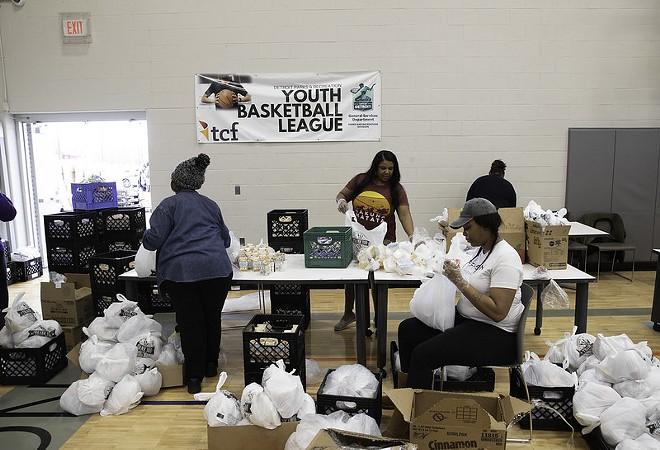 Detroit's Grab n' Go food distribution. - CITY OF DETROIT