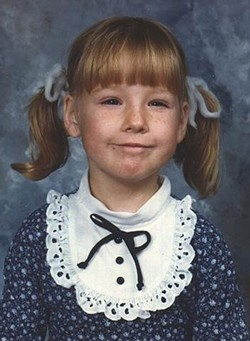 A young Heather Sweet, from West Branch. - COURTESY PHOTO