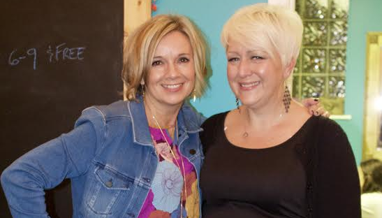 She-Hive co-founders (left to right) Andrea Clegg Corp and Ursula Adams. - PHOTO COURTESY SHE-HIVE