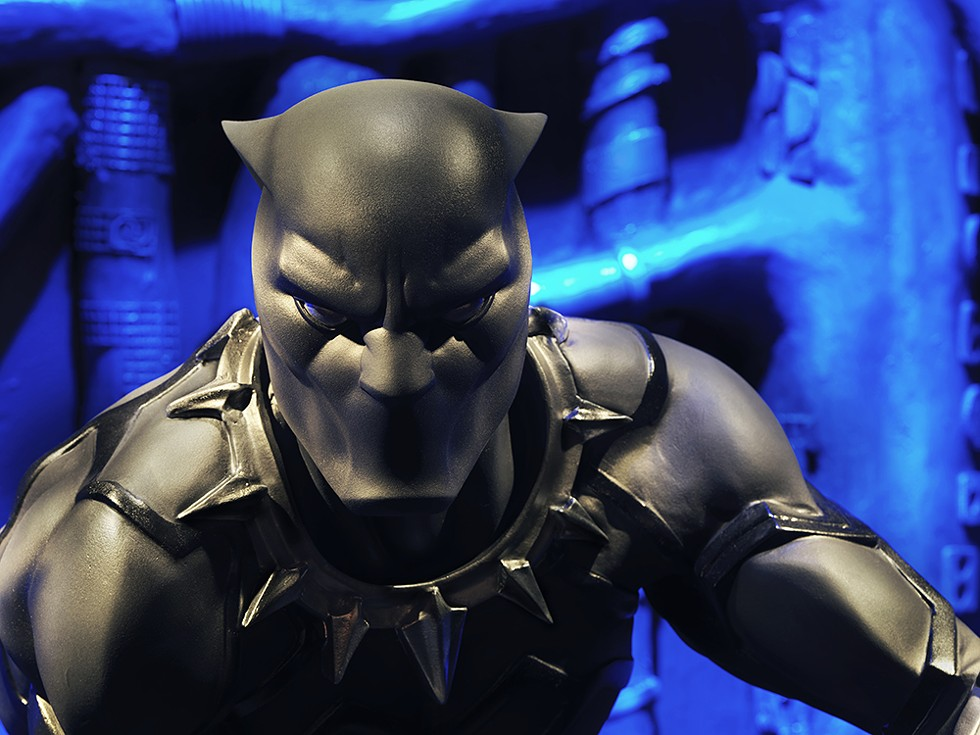 The Black Panther was the first Black superhero to land a major book, as he did in 1977. - COURTESY OF THE HENRY FORD