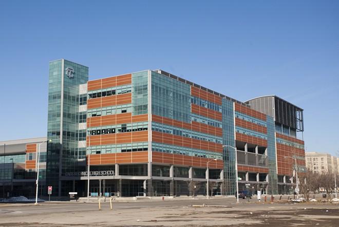 Cass Tech High School in Detroit. - STEVE NEAVLING