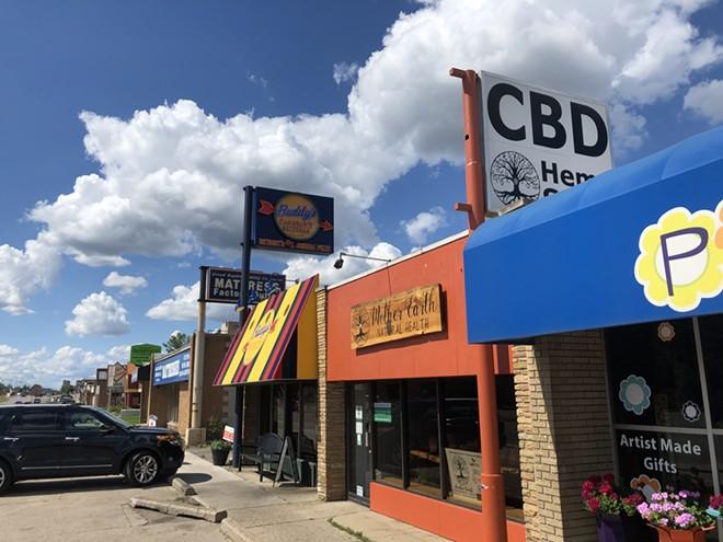 Royal Oak is considering allowing recreational marijuana stores along Woodward Avenue. - LEE DEVITO